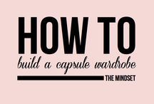 HOW TO BUILD A CAPSULE WARDROBE-THE METHODE / by ImagoWijzer