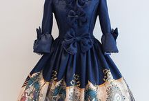 Lolita wardrobe / Dresses I have/ would love to have :3