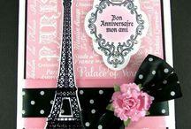 Paris - Tower Eiffel Card