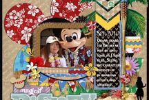 Scrapbook Disney & Universal / by Karen Closser