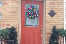 Customers, send me your pics!! / I've asked customers to send me photos of their wreaths once they have placed them on their doors or tables or desired spots.  OMG...they all look so stunning so far!!