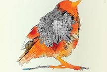 Printmaking inspiration / Great water colours, inks and etchings