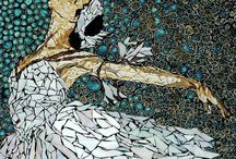 mozaika ze skorupek jaj