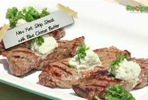 Maytag Blue Cheese Recipes / Recipes created with world famous Maytag Blue Cheese that's made in Newton, Iowa at Maytag Dairy Farms.