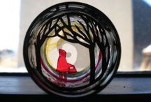 Assemblages and dioramas / Found object art, mixed media, recycled art / by Deb Phillips