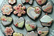 versierde koekies
