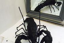 Wendy Alblas beelden, sculpturen, brons, was / #Sculpture art , #horses , #lobster , #beelden , # Brons