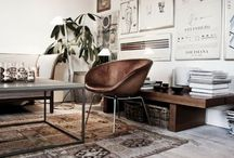 {living rooms} / by Page Stokes