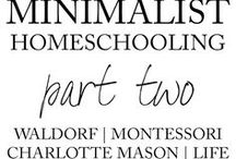 Homeschool: Montessori / Homeschool Montessori ideas and resources