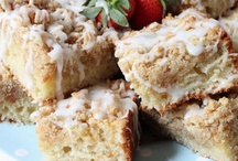 Crumb Cakes / Any kind of crumb cake, as long as it is a crumb cake, any flavors, really.