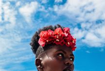 Floral Fro Inspo