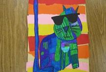 K-1st Art Lessons / by Karen Siler