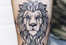 Løve tatts til evt. Sleeve