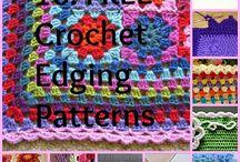 Crochet - Edgings & Joins