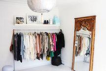 Simple Closet Room