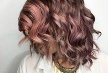 Chocolate Mauve Hair