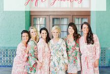 Bridesmaid Business / What could be better than having your best girlfriends (or boyfriends) by your side throughout your wedding journey? Having creative and memorable crafts and gatherings to add to the fun!