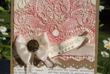 Craft Inspo - Hello Doily / SU crafts