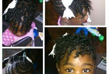 natural hairstyle for children