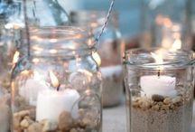 frascos y tarros decorados