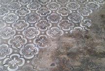 Stencil pavimenti