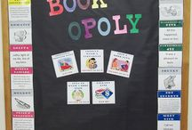Bulletin board / Literacy