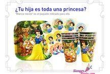 Fiesta de Blancanieves / Ideas y artículos para una fiesta de cumpleaños de Blancanieves y los siete enanos.