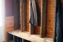 Mud Room/Hunting Storage