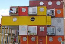 Arquitetura / Diferentes ideias de construção