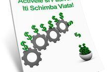"""Descarca acum gratuit e-book-ul: """"'Activele si pasivele iti Scimba Viata!"""