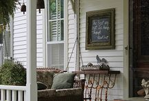 Front porches, come sit a spell. / Pretty much my favorite place to be. / by Brenda Williams