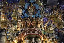 Kαρναβάλι στο Ριο της Βραζιλίας-Carnaval Rio de janeiro / Ρίο ντε Τζανέιρο