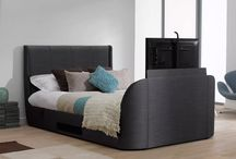 TV Bed Bliss / Add comfort, style and practicality to your bedroom with our selection of TV beds! / by Dreams Ltd