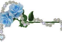 Ozdoby - linie ozdobne kwiaty