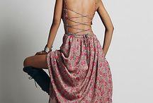Dlhé šaty-sukne
