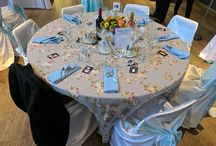 Canadian Wonderland Wedding / This wedding was in Canada summer of 2017 and exclusively hosted by Premier Table Linens when it comes to Linens and other fabrics.