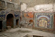 Ancient history of Pompeii Italy and Capua
