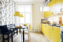 Need a splash of sunshine in your kitchen? / Yellow Kitchen Concepts