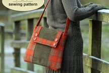 Tweed Bags - Sewing Tips, Tutorials, & ePatterns / See beautiful tweed handbags and purses sewn using digital sewing patterns, tutorials and techniques featured at PatternPile.com. / by PatternPile.com