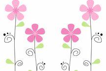 Flores infantiles