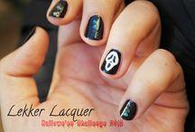 Lekker Lacquer Halloween Nails 2013