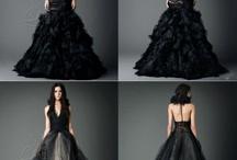 黒のウェディングドレス