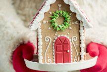 CHRISTMAS (HOUSE GINGERBREAD)