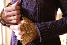 Fiber Arts: Cuffs and Fingers