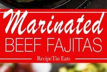 Recipes-beef / Cut beef recipes