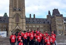 """SO Hill Day 2013 / Special Olympics in Canada is on Parliament Hill today to promote awareness and strengthen our ties with the federal government! We're meeting with MPs, Senators and Ministers to talk about the importance of Special Olympics in Canada. If you're in Ottawa, come visit us during the noon hour to watch our """"Amazing Special Olympics race"""" featuring teams of Special Olympics athletes, MPs, Senators and Ministers and members of the Law Enforcement Torch Run!"""