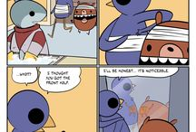 Webcomics / We gather the collection of funny and witty webcomics here.