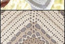 crochet motif poncho