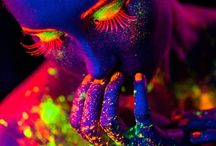 neon body painting¤.¤