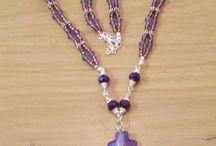 Purple Jewelry Making